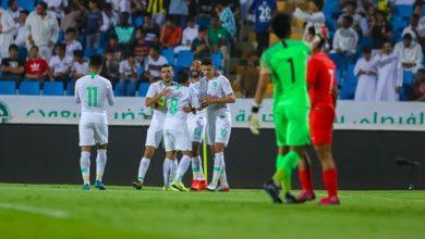 موعد وتوقيت مباراة المنتخب السعودي القادمة ضد فلسطين والقنوات الناقلة