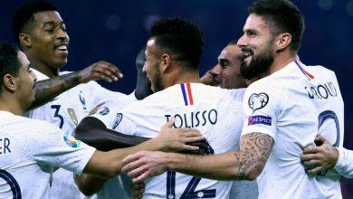 فرنسا تفوز علي ألبانيا وتعزز صدارتها