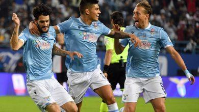 لاتسيو يفوز علي يوفنتوس ويحصل علي كأس السوبر الإيطالي
