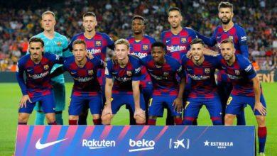 التشكيل المتوقع لبرشلونة أمام اتلتيكو مدريد في كأس السوبر