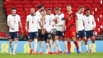 تشكيلة منتخب انجلترا من أجل مواجهة منتخب الدنمارك