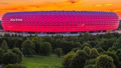 ٱليانز ارينا يستضيف مباراة كأس ألمانيا وفريق دوريان