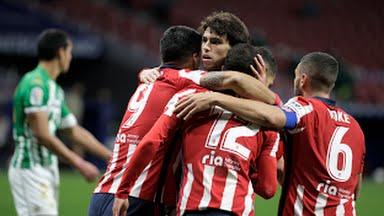 أتليتكو مدريد يقتنص فوز هام علي حساب ريال بيتيس