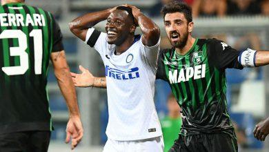 تشكيلة نادي إنترميلان من أجل مواجهة ساسوولو في الدوري الايطالي