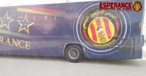 شاهد صور حافلة الترجي التونسي الجديدة