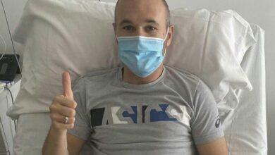 الإصابة تحرم فيسيل كوبي من خدمات إنييستا 4 أشهر