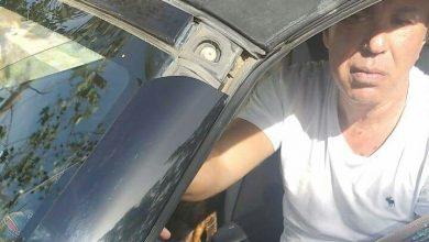 """بالصور.. التعدي""""بالضرب"""" علي أيمن يونس وتحطيم سيارته من قبل مجهولين"""