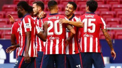 أتليتكو مدريد يفوز علي كارداسار في كأس ملك إسبانيا