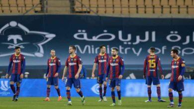 برشلونة يعلن إنضمام مدافعه لقائمة الإصابات قبل لقاء الكأس