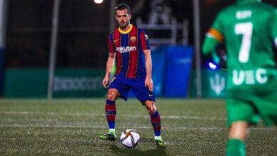 برشلونة يضرب مرمي كورنيلا بثنائية في كأس الملك