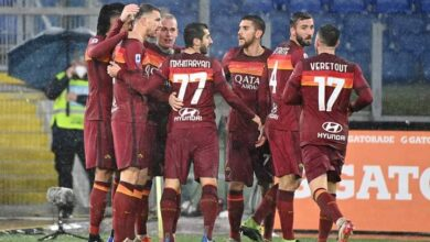 روما في مواجهة سبيزيا علي ملعب الأوليمبيكو بكأس إيطاليا