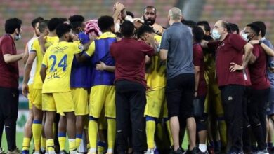 النصر يسحق العين بثلاثة أهداف نظيفة بالدوري السعودي للمحترفين