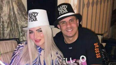 بالصور.. العام الجديد يحتفل بزيدان وزوجته