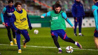 برشلونة في مهمة صعبة أمام ريال سويسيداد بالسوبر الإسباني