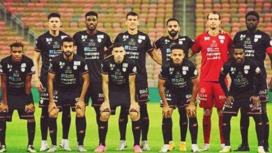 التشكيل الرسمي لنادي الشباب امام نادي العين في اطار منافسات الدوري السعودي