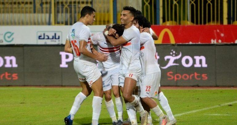 بن شرقي يقود التشكيل الرسمي للزمالك أمام المقاصة في الدوري المصري
