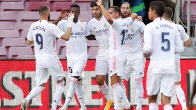 غياب ثلاثي ريال مدريد عن مواجهة ألكويانو في كأس الملك