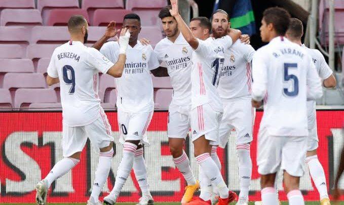 تعرف علي تشكيلة ريال مدريد لمواجهة ألافيس بالليجا
