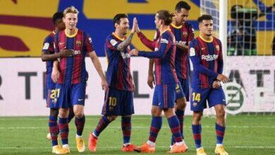 تعرف علي تشكيلة برشلونة لمواجهة بيلباو بنهائي السوبر الإسباني