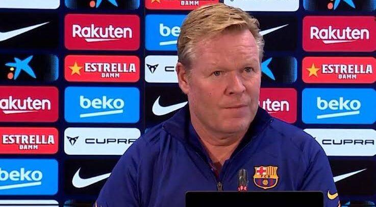 كومان يتحدث عن رحيل سواريز من برشلونة ويكشف موعد عودة المصابين