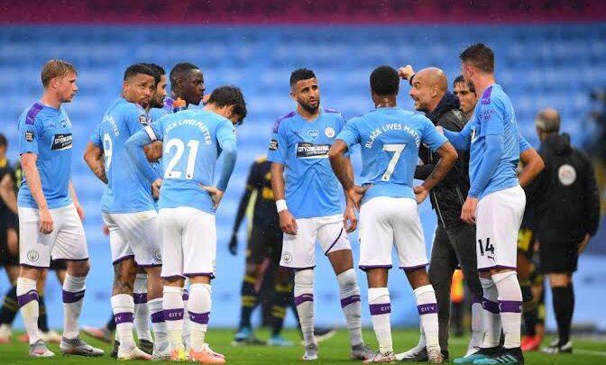 السيتي يعلن عن إصابة لاعبين بكورونا قبل مواجهة اليونايتد
