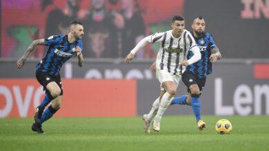 رونالدو يقود يوفنتوس للفوز علي إنتر ميلان في كأس إيطاليا