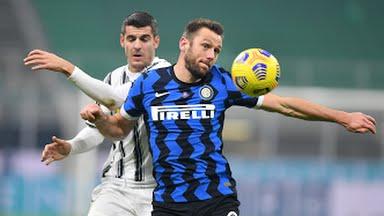 تعرف علي تشكيل مباراة يوفنتوس وإنتر ميلان في كأس إيطاليا