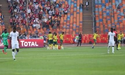 تأهل ستارز بلاك علي جنوب أفريقيا من تصفيات كأس الأمم الأفريقية