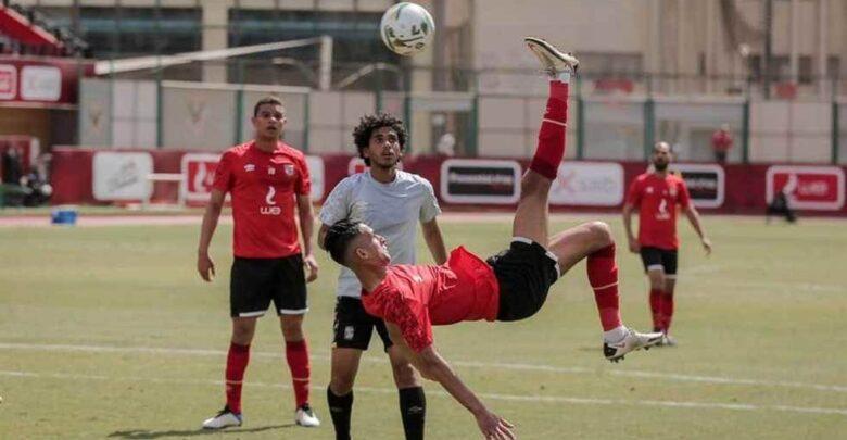 بانون يسجل ثنائية.. الأهلي يفوز علي فريق الشباب برباعية
