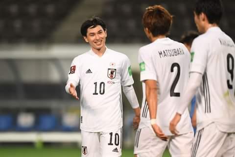 اليابان تمطر شباك منغوليا في تصفيات كأس العالم