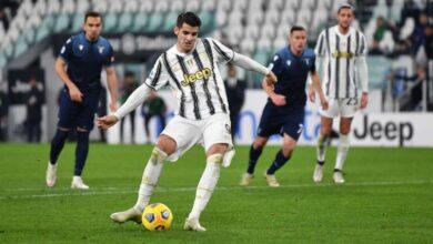 يوفينتوس يفوز على لاتسيو بثلاثة أهداف مقابل هدف في الدوري الإيطالي