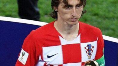 لوكا مودريتش يقود تشكيل المنتخب الكراوتي أمام سلوفينيا بتصفيات كأس العالم