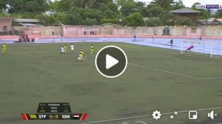 بالفيديو.. هدف السودان العالمي أمام ساو توميه في تفصيات إفريقيا