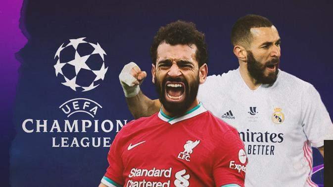 3 قنوات مجانية تنقل مباراة ريال مدريد مع ليفربول بدوري أبطال أوروبا