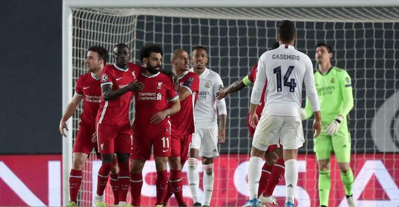 بث مباشر.. مباراة ريال مدريد مع ليفربول بدوري أبطال أوروبا