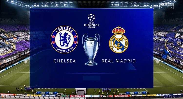 قناة مجانية مفتوحه تنقل مباراة ريال مدريد مع تشيلسي بدوري الأبطال