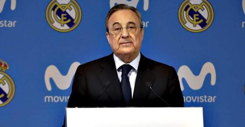 بيريز يرد بقوة علي خروج مدريد من دوري الأبطال