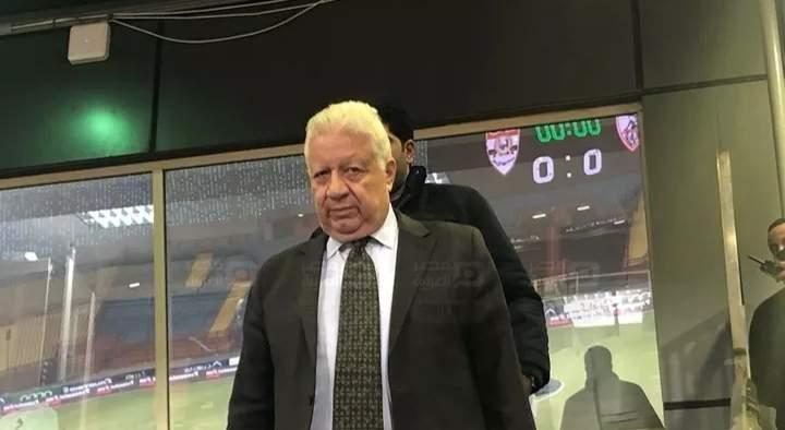 شطب إسم مرتضى منصور بقرار من اللجنة الأولمبية