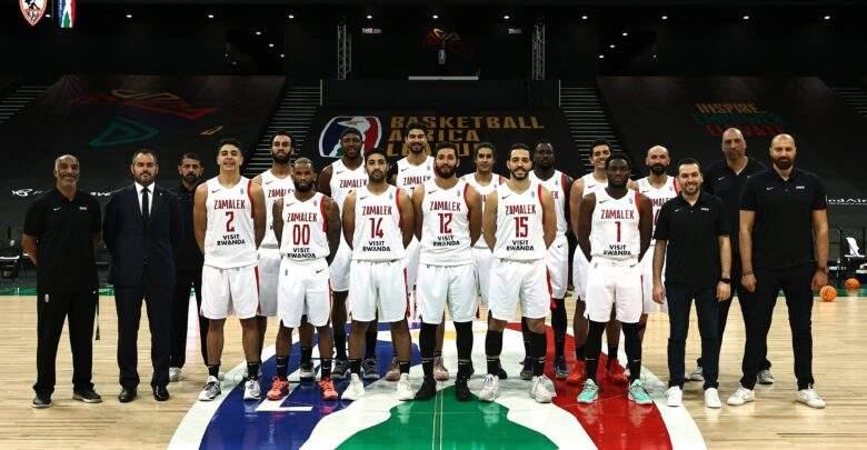 الزمالك يتوج بطلا لدوري أبطال إفريقيا لكرة السلة علي حساب الأتحاد المنستيري