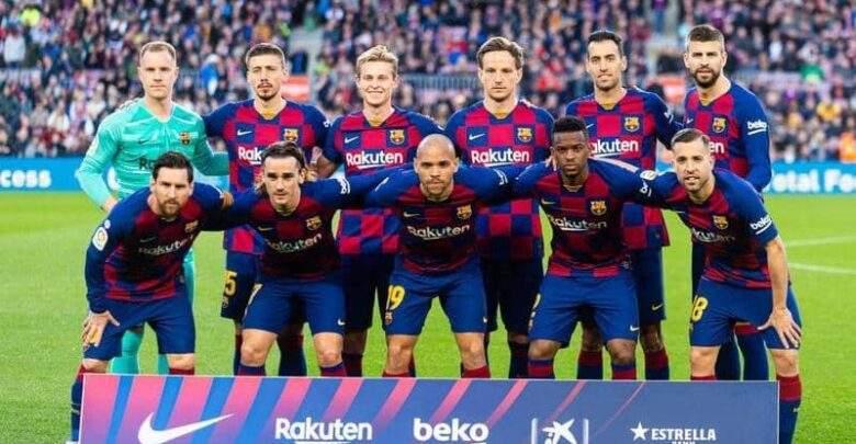 برشلونة يعلن قائمة الفريق لمواجهته فالنسيا
