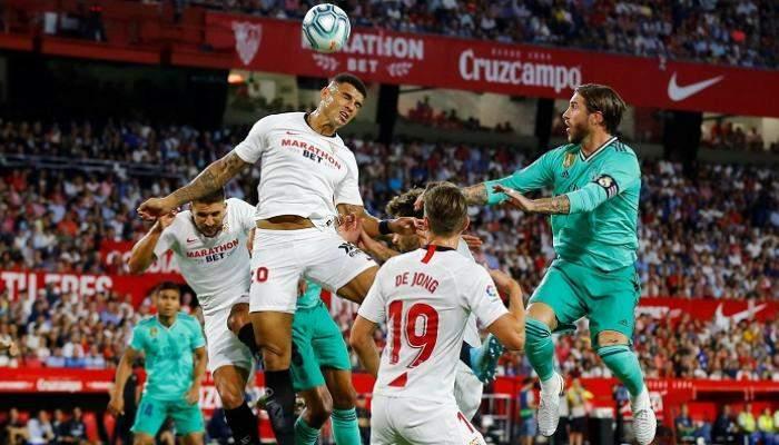 """""""يبقى الحال كما هو"""".. تعادل قاتل لريال مدريد أمام أشبيلية بالليجا"""
