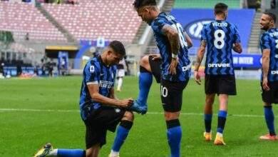 البطل إنتر ميلان يختتم الدوري الإيطالي بأكتساح نظيرة أودينيزي بخماسية