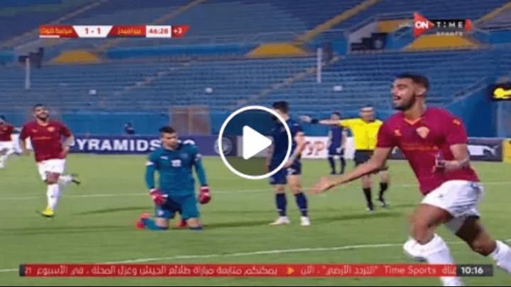بالفيديو.. ريمونتادا سيراميكا كليوباترا أمام بيراميدز (4-2)