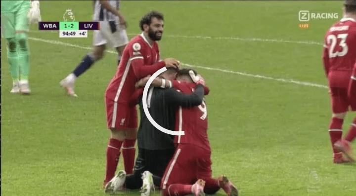 بالفيديو.. هدف اليسون بيكر حارس مرمى ليفربول في الدقيقة +94