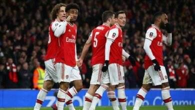 آرسنال يفوز علي برايتون بثنائية دون رد في الدوري الانجليزي