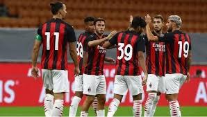"""تشكيلة فريق""""ميلان""""أمام """"اتالانتا"""""""