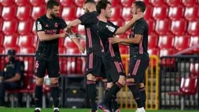 تقييم لاعبي ريال مدريد بعد الفوز على غرناطة