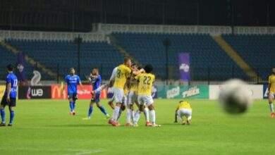 الدراويش تقهر سموحة من منافسات الدوري المصري