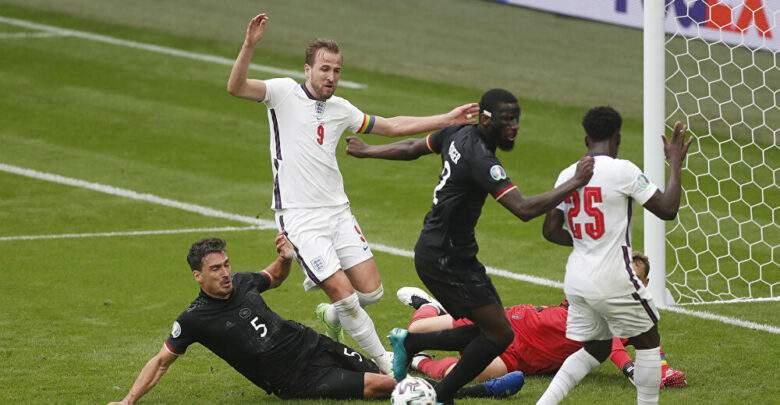 إنجلترا تصعد للدور ربع النهائي بعد الفوز علي ألمانيا بهدفين دون رد