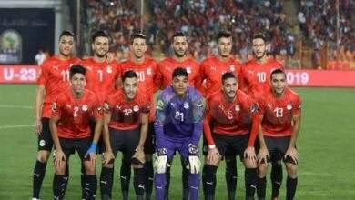 تعرف على تشكيله منتخب مصر الاولمبي امام جنوب افريقيا استعدادا للاولمبياد